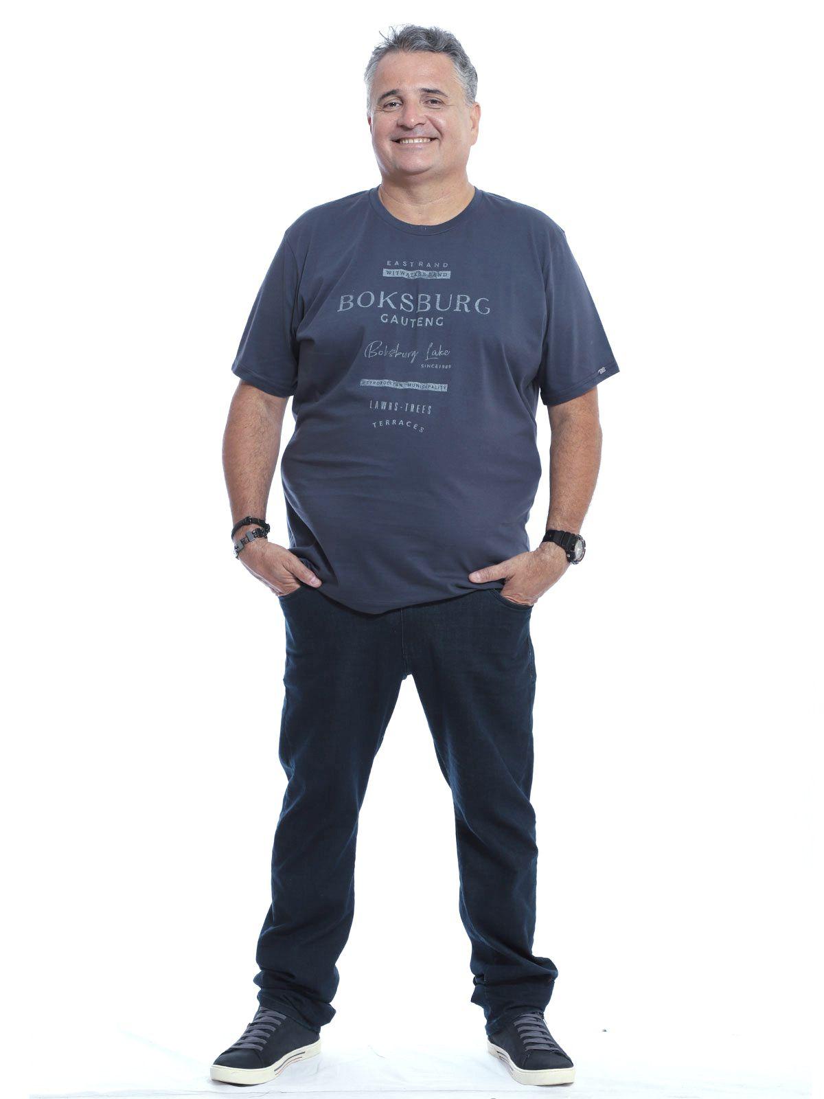 Camiseta Plus Size Anistia Grafite