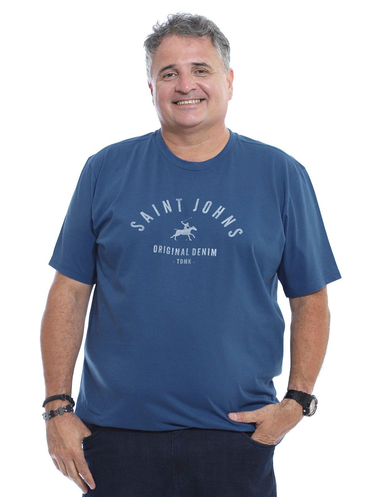 Camiseta Plus Size Anistia Rock Jeans