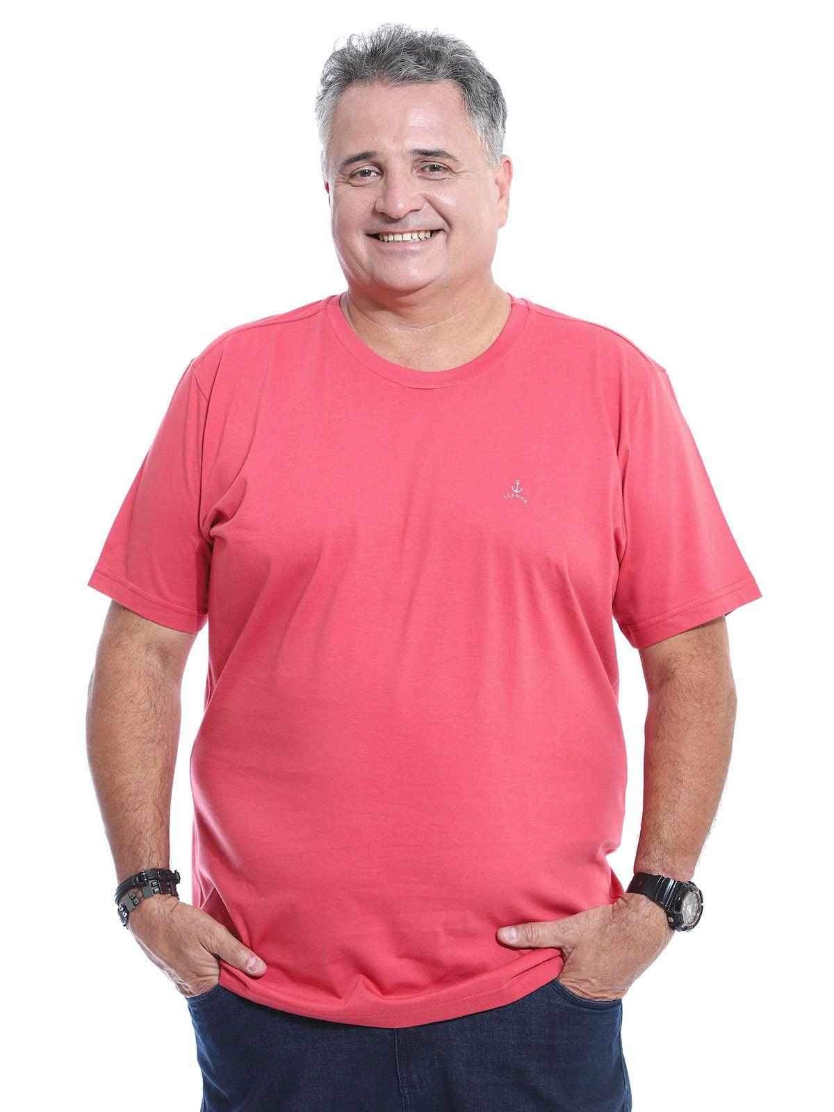 Camiseta Plus Size Anistia Sea Vermelho