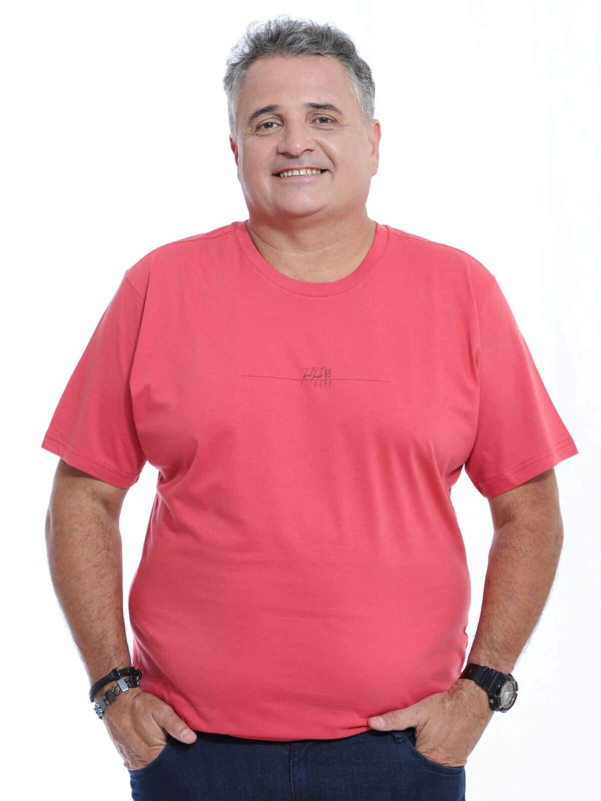 Camiseta Plus Size Anistia Truck Vermelho