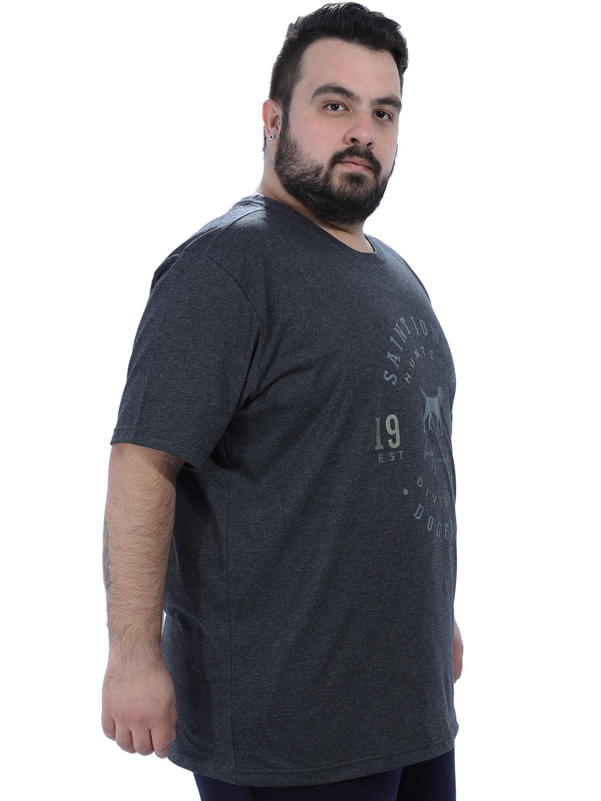 Camiseta Plus Size Careca Hunter Anistia Preta