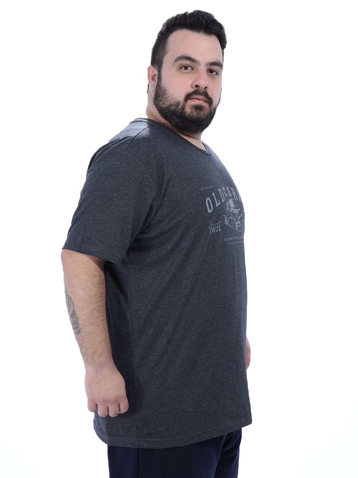 Camiseta Plus Size Masculino Garage Anistia Mescla
