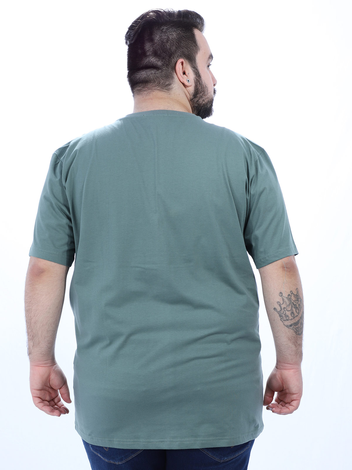 Camiseta Plus Size Masculino Jeep Anistia Concreto
