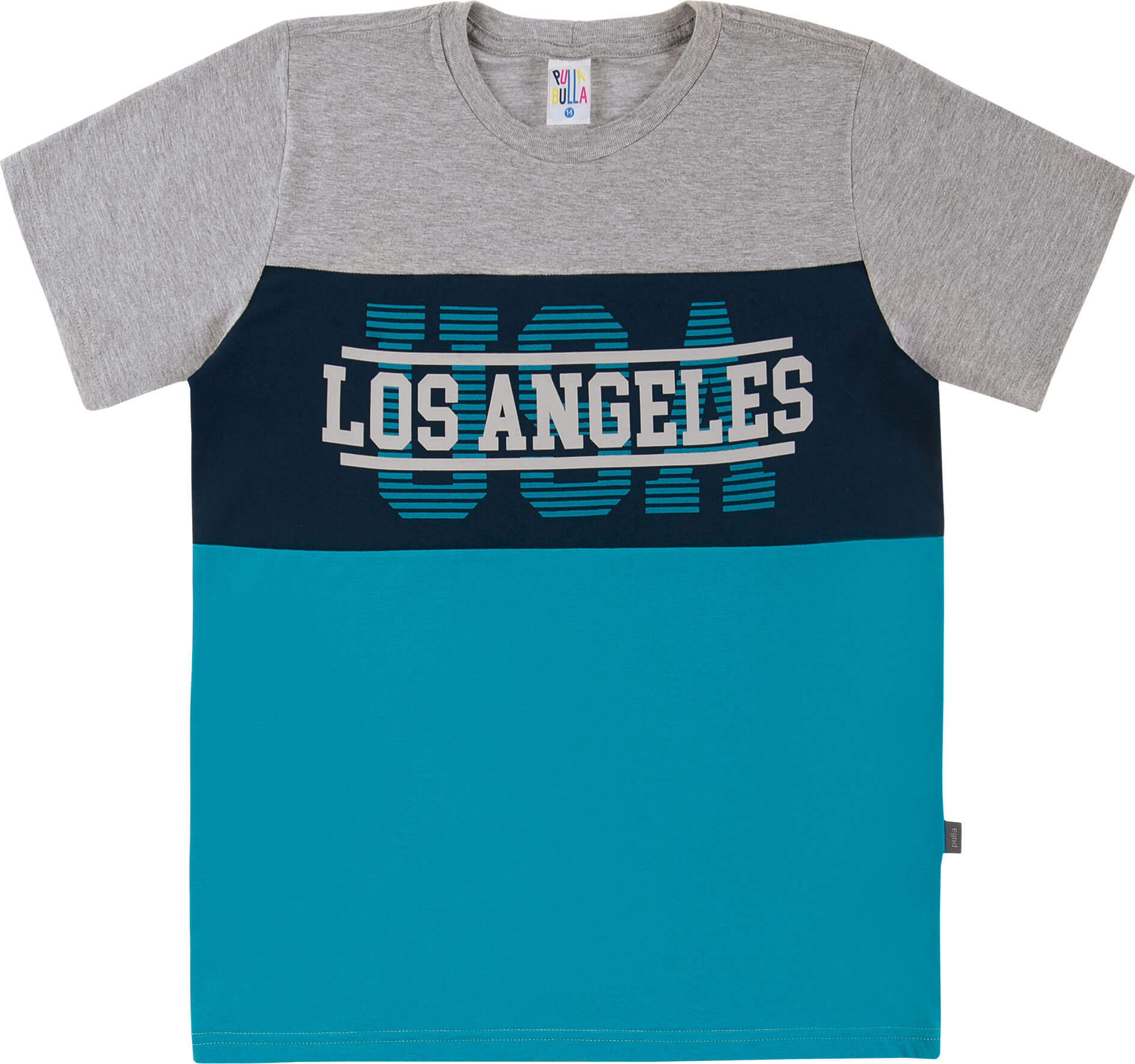 Camiseta Pulla Bulla Los Angeles Mescla