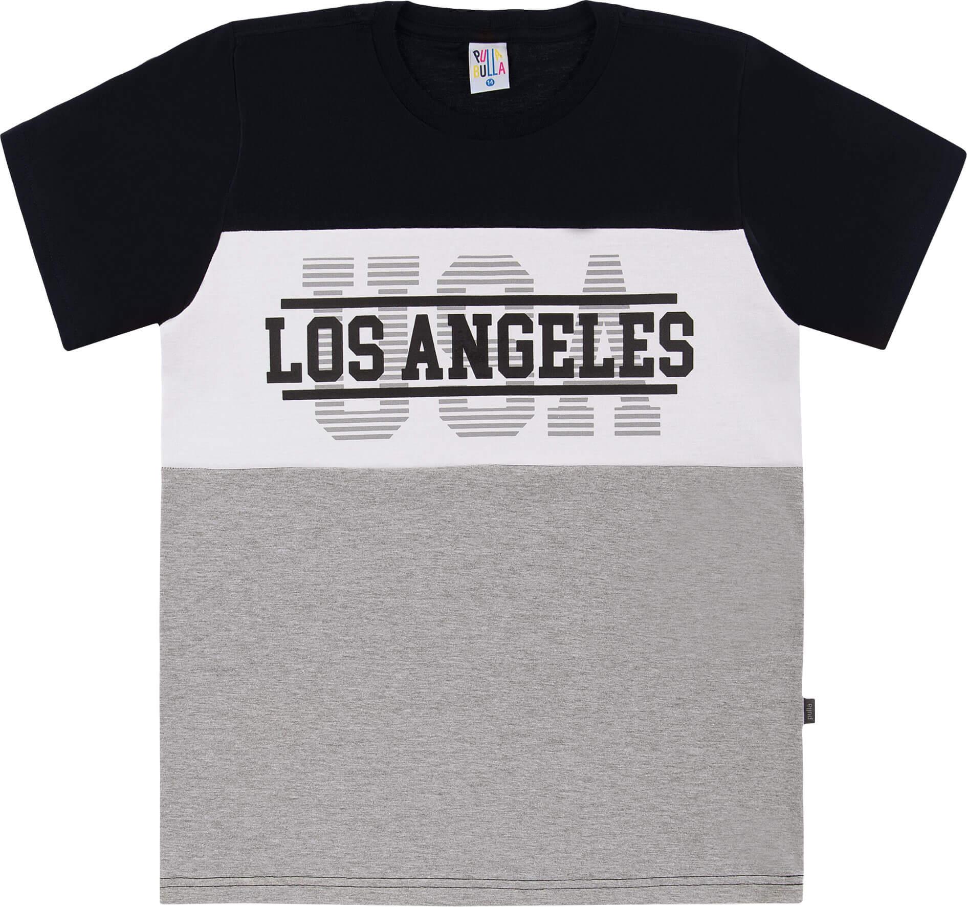 Camiseta Pulla Bulla Los Angeles Preta