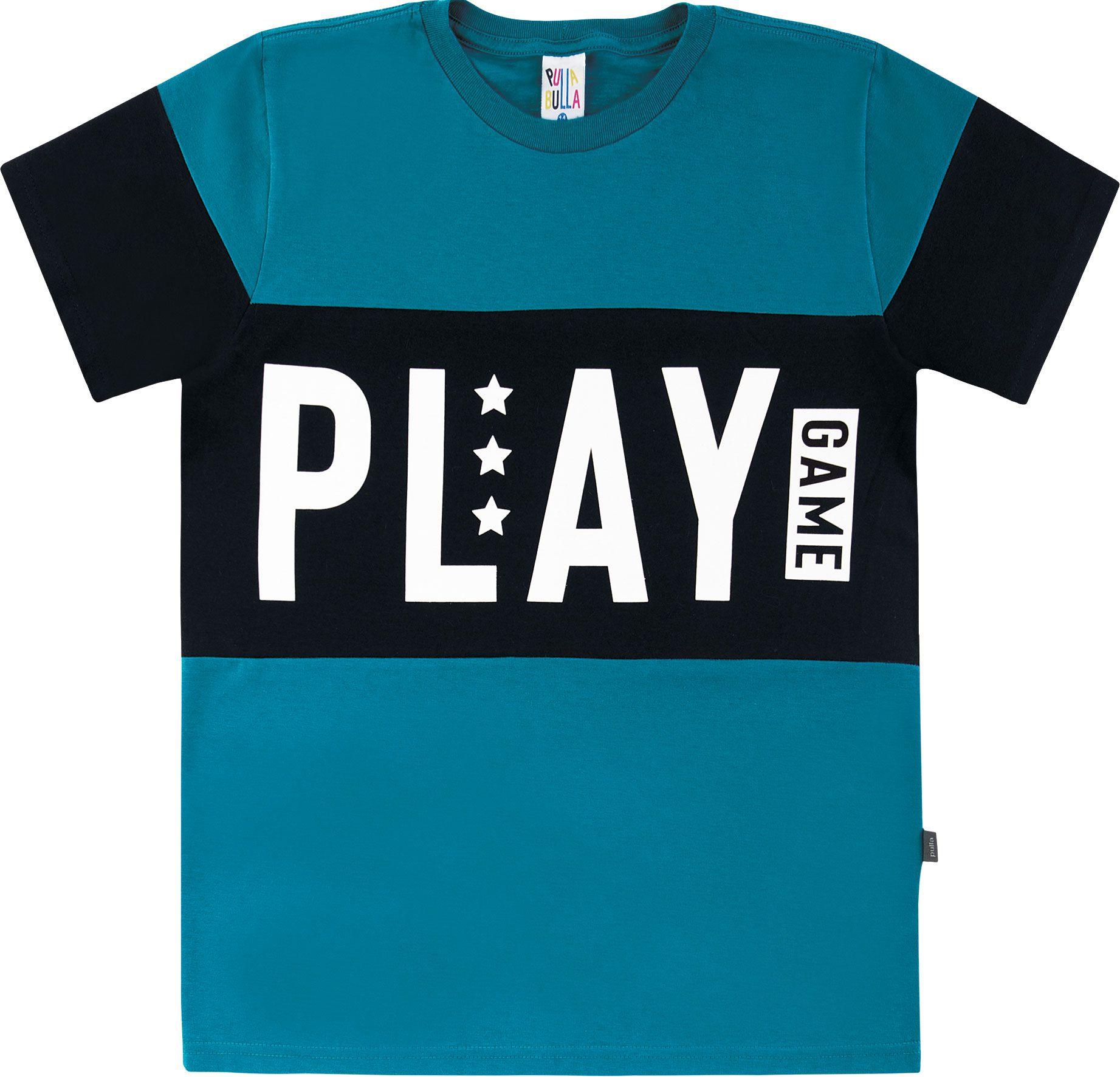 Camiseta Pulla Bulla Play Azul