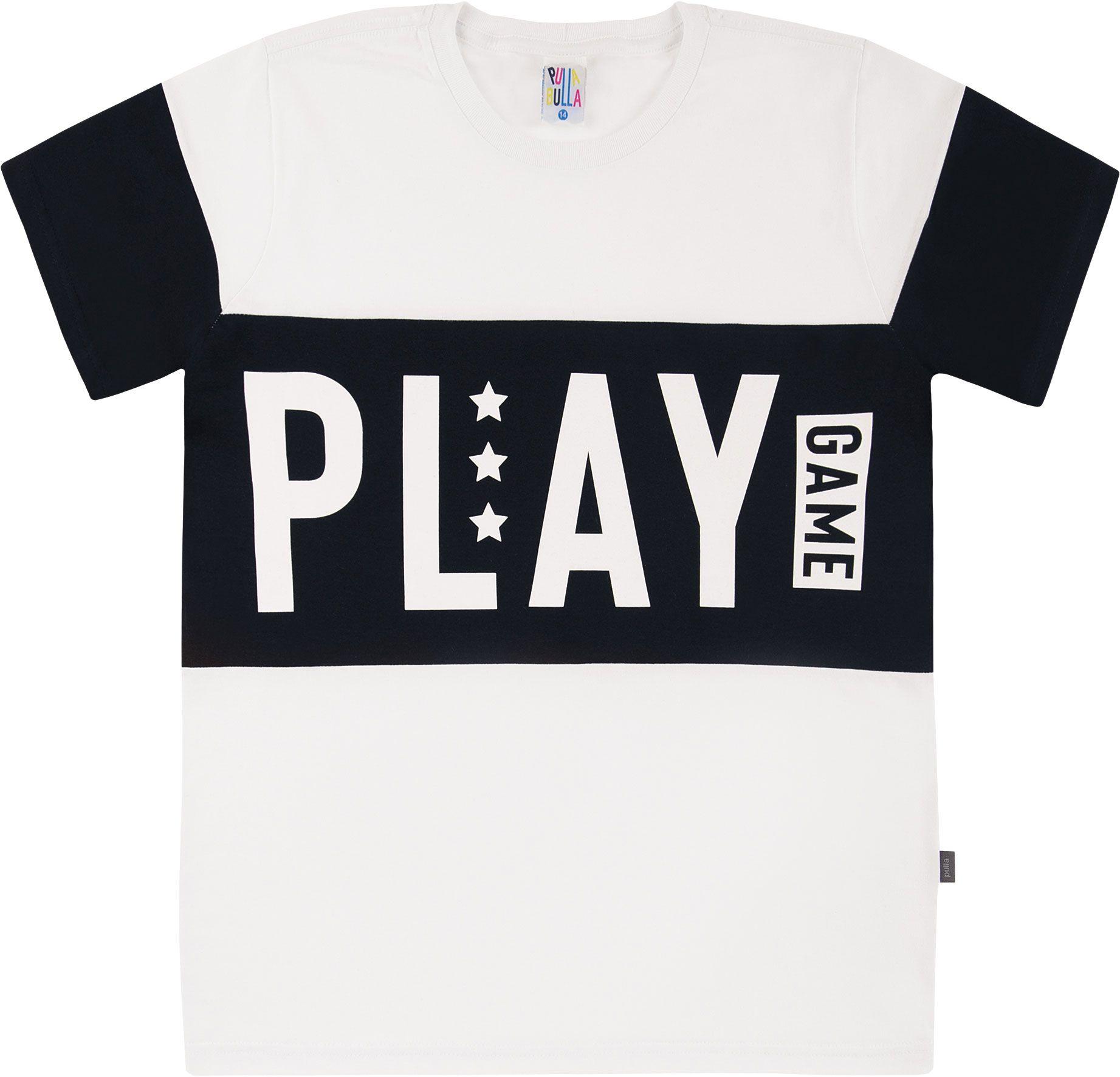 Camiseta Pulla Bulla Play Branco