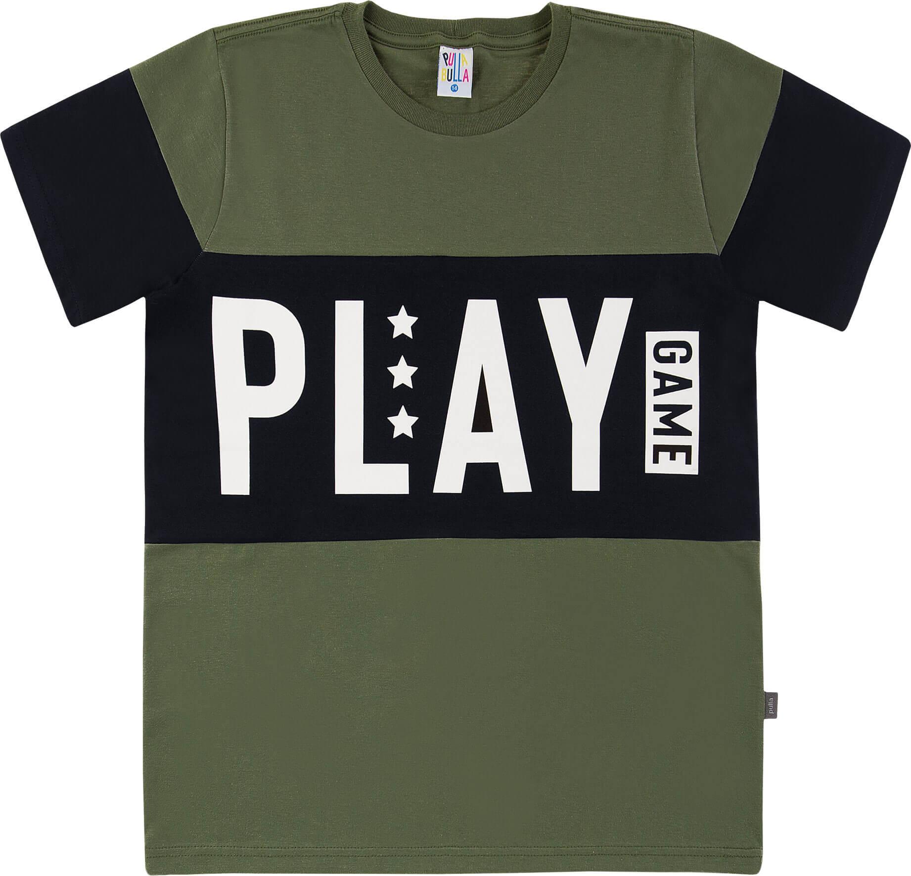 Camiseta Pulla Bulla Play Militar