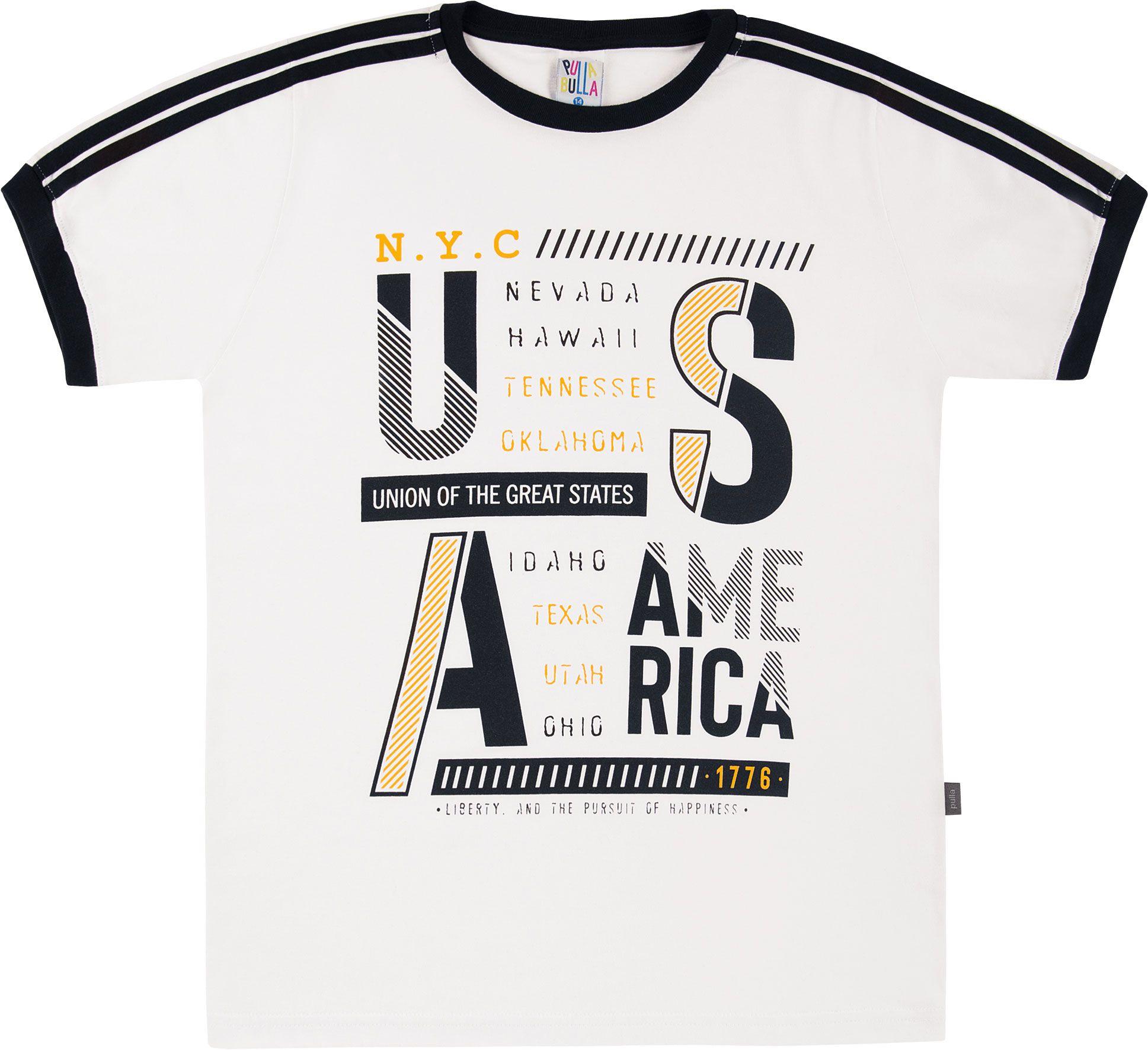 Camiseta Pulla Bulla U.S.A Branco