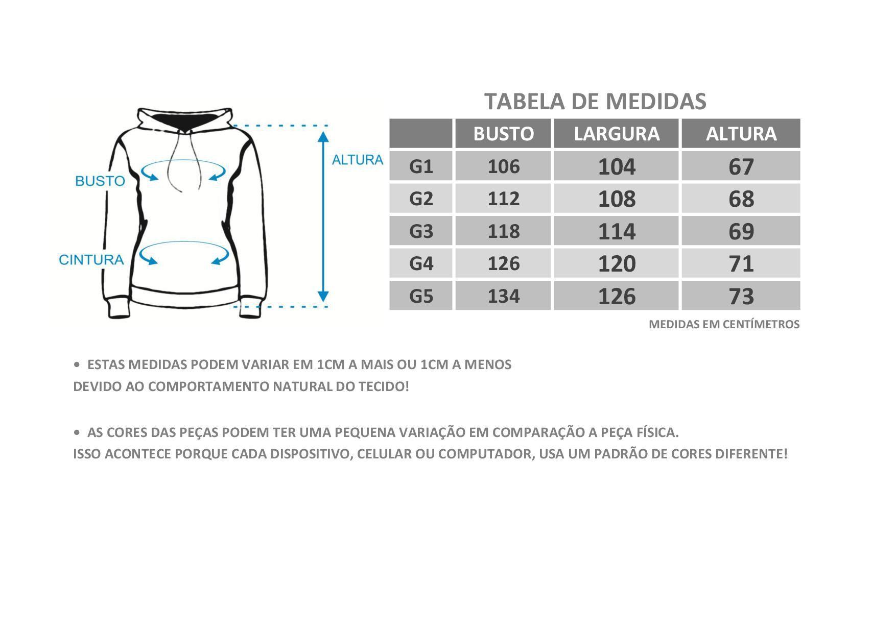 Casaco Plus Size Moletom Fleece Botonê Bordo