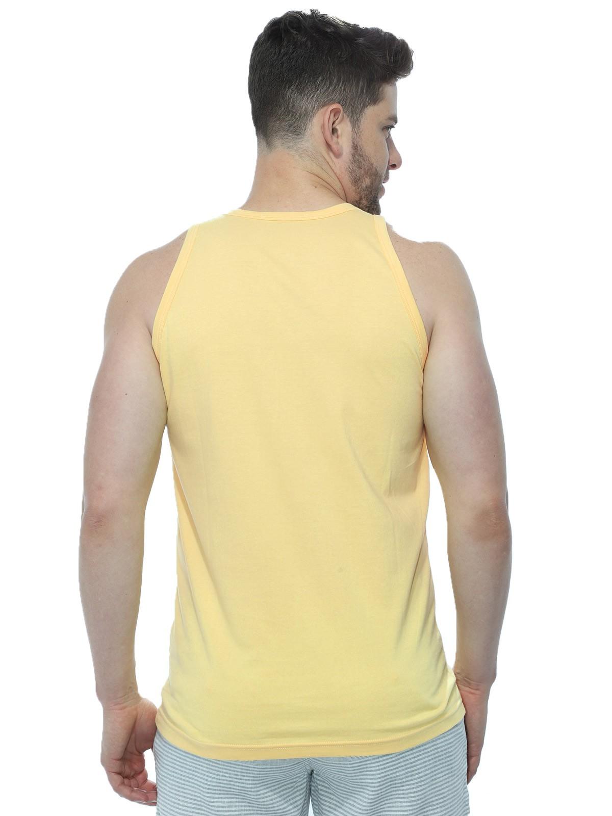 Regata Masculina Anistia Flue Flag Amarelo
