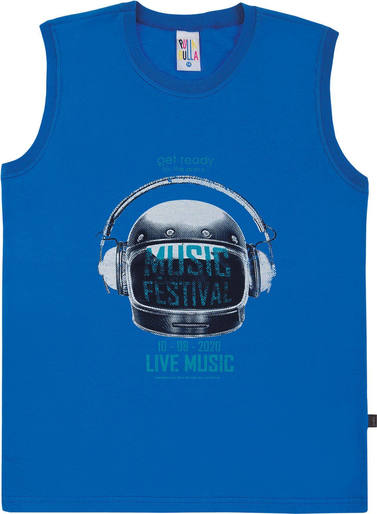 Regata Pulla Bulla Music Azul