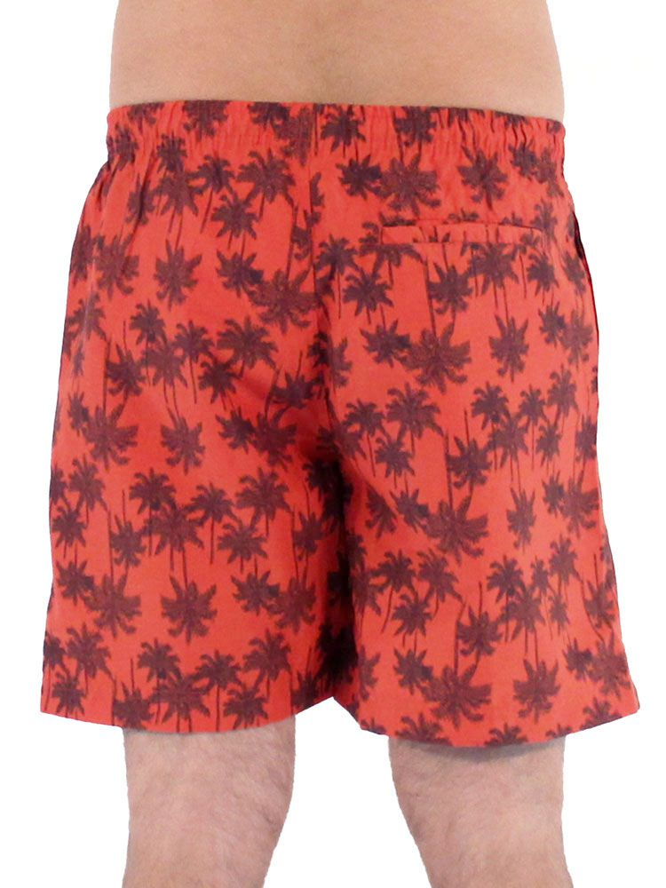 Short Anistia Estampado Coqueiro Vermelho