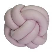 Almofada Decorativa Nó Rosa
