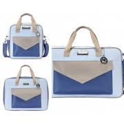 Conjunto Bolsa Maternidade Color Fun Azul