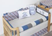Kit de Berço 10 peças Coleção Robô