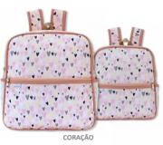 kit Mochilas Coleção Lollipop Coração