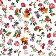 Papel de Parede Brincar Floral Branco