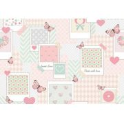 Papel de Parede Patch Love