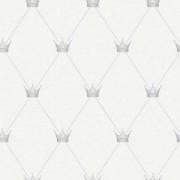 Papel de Parede Renascer Coroas Prata