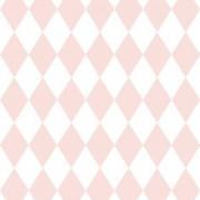 Papel de parede Renascer losango Rosa