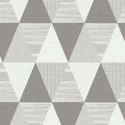 Papel de Parede Triângulo Cinza