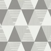 Papel de Parede Abracadabra Triângulo Cinza
