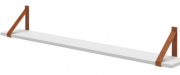 Prateleira Evolutiva 120cm Branco Fosco