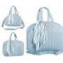 Conjunto Bolsa Maternidade Coleção Quebec Azul