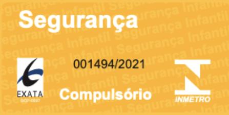 Berço Tomi Cinza Fosco com Carvalho Malva