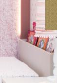 Cabeceira para Cama com Espaço para Livros (Escolha a cor que desejar)