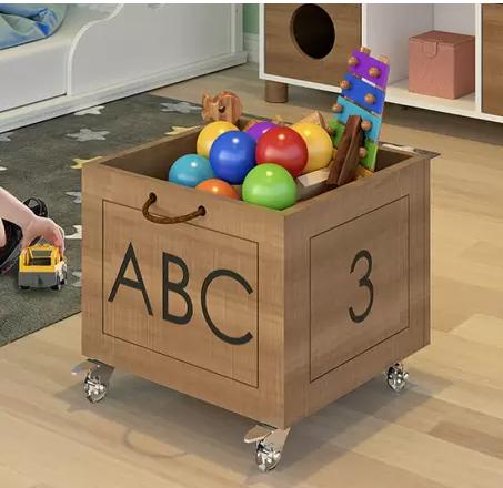 Caixinha Organizador de Brinquedos - coleção Casinha