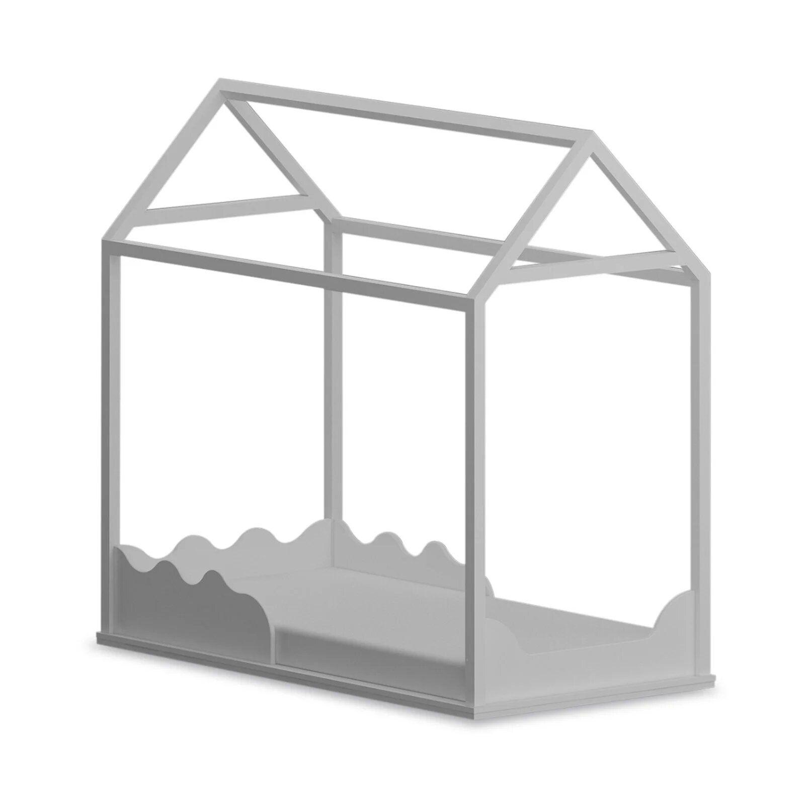 Cama Infantil Montessoriana - coleção Casinha branca