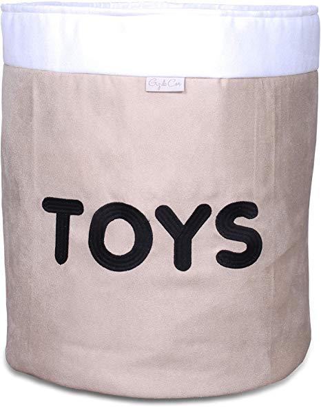 Cesto Organizador em Suede Toys
