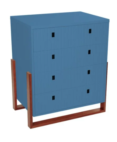 Cômoda Coleção Dominó Azul