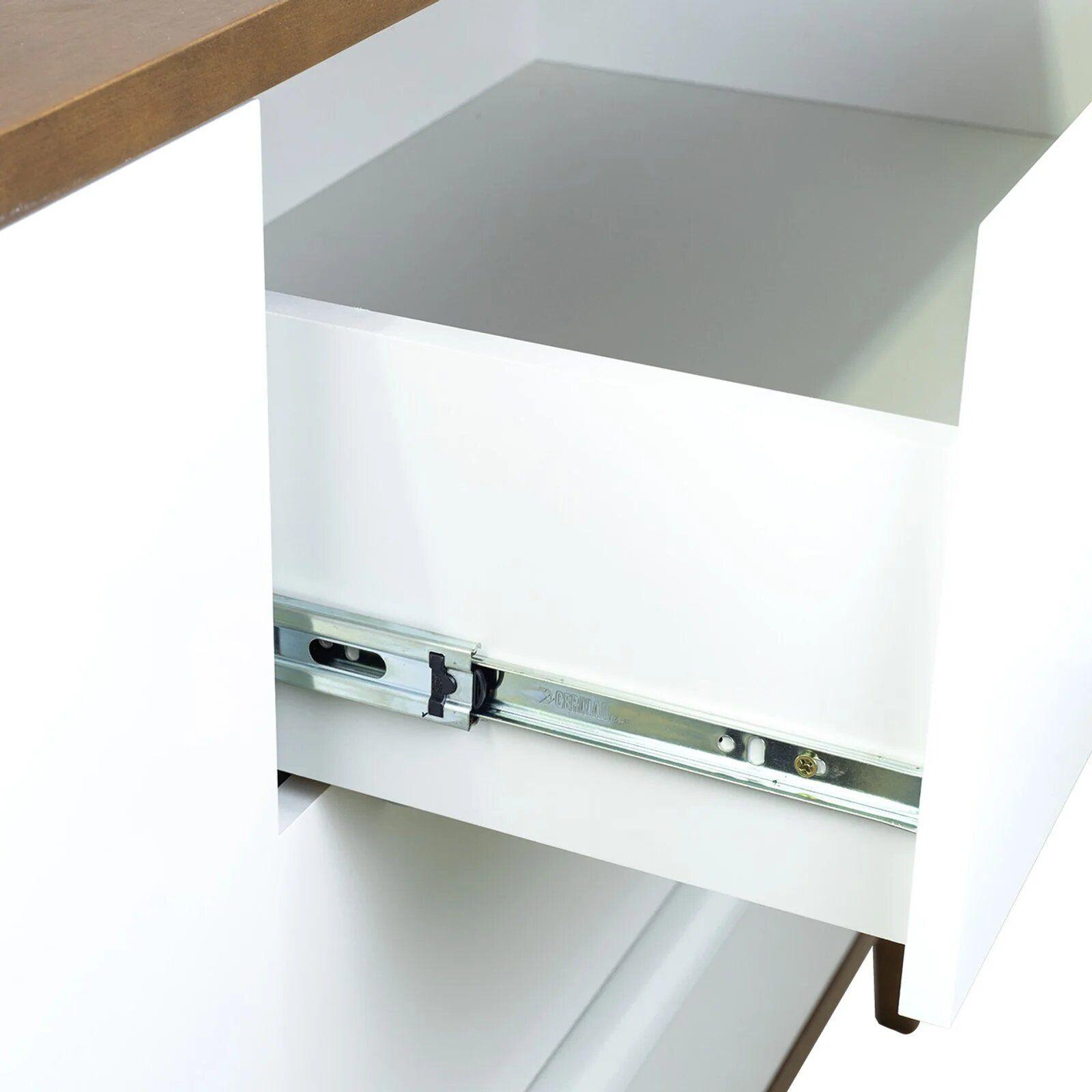 Cômoda Infantil 3 gavetas e 2 portas - Coleção Sambalelê
