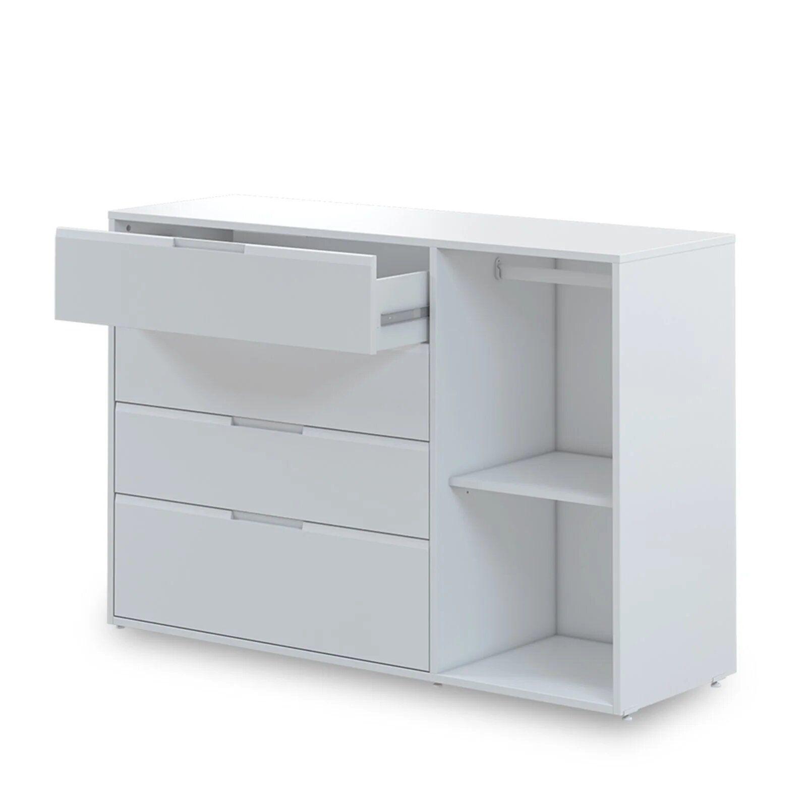 Cômoda Infantil 4 gavetas e 1 porta - coleção Soft