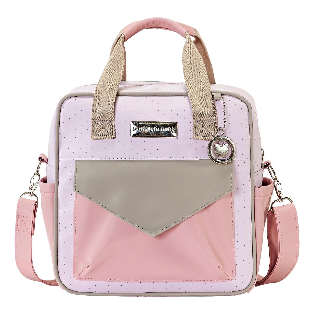 Conjunto Bolsa Maternidade Color Fun Rosa