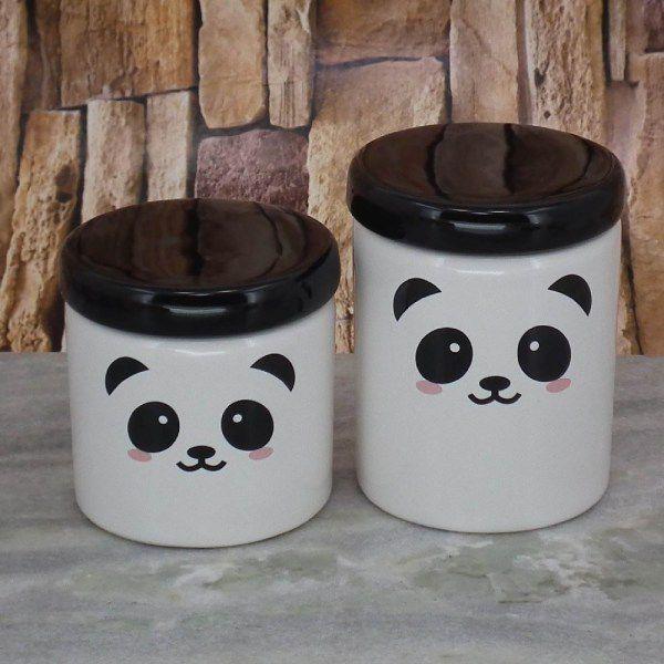 Kit Higiene 4 peças Coleção Panda
