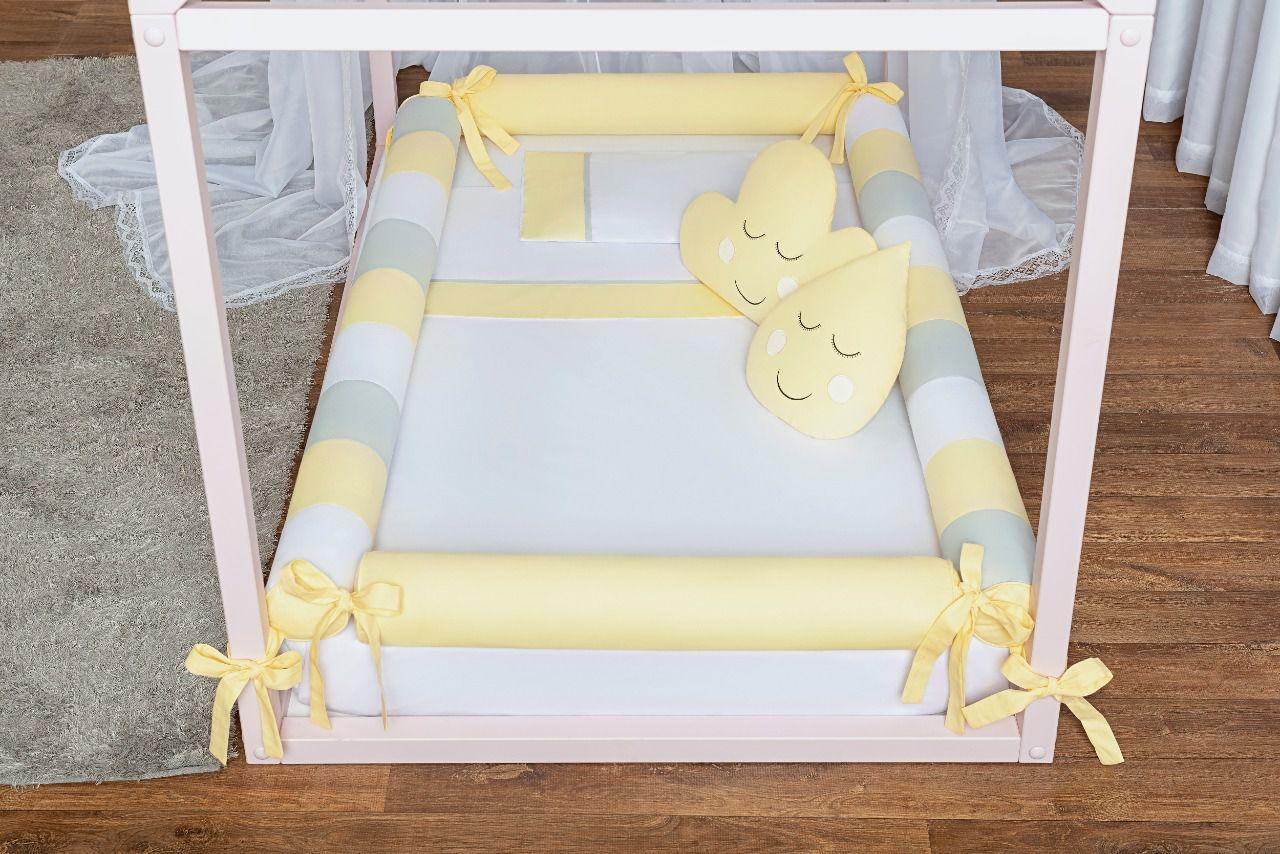 Kit Montessoriana 7 peças Amarelo