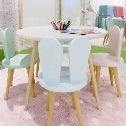 Mesa com 2 cadeirinhas Infantil Brinquedoteca - Linha Kids I