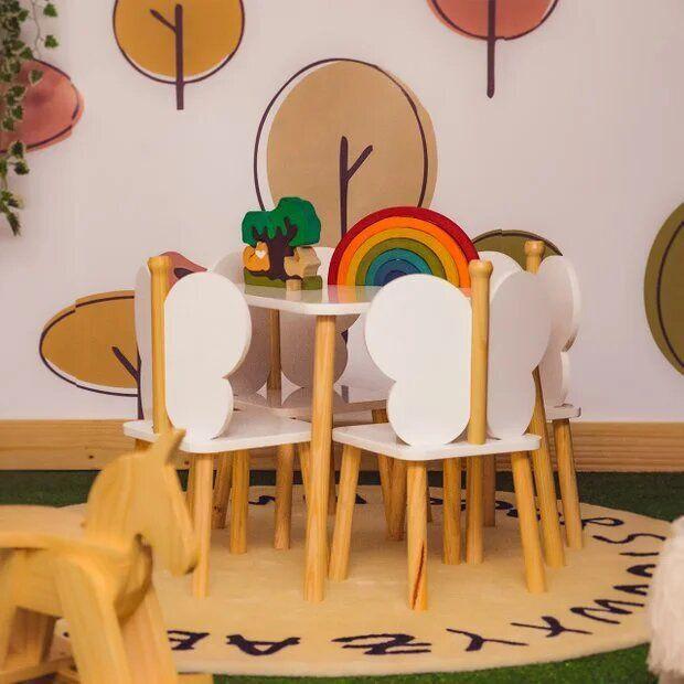 Mesa Infantil Brinquedoteca - coleção Hora de Brincar