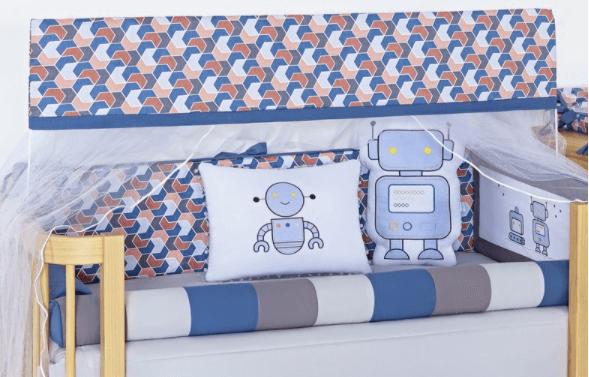 Mosquiteiro com Bandô 02 peças Coleção Robô