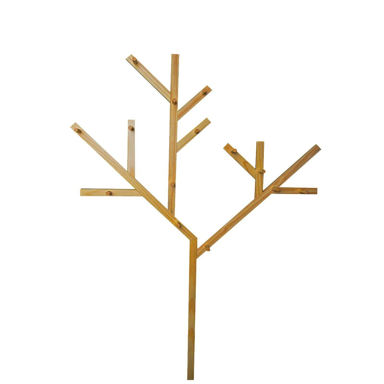 Painel Árvore com Cabideiros - Coleção Hora de Brincar