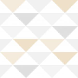 Papel de Parede Brincar Triangulo Geométrico Rosa e Violeta