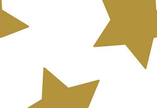 Papel de Parede Estrela Dourada