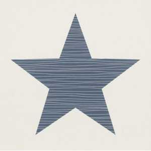 Papel de Parede Estrela Grande Marinho