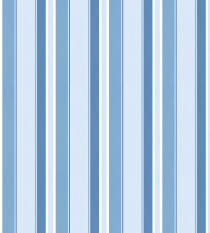 Papel de Parede Listra Branca,Azul Claro e Marinho