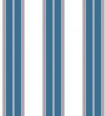 Papel de Parede Listra Branco,Marinho e Vermelho