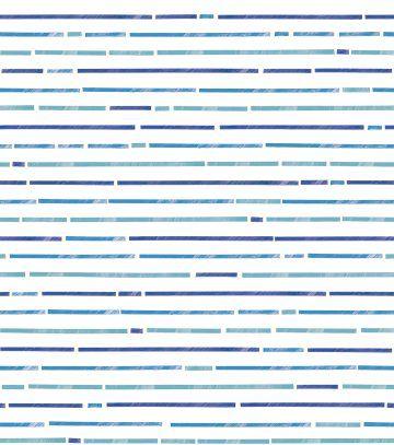Papel de Parede Brincar Listrado Azul
